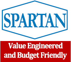 Spartan Logo - Value Engineered and Budget Friendly