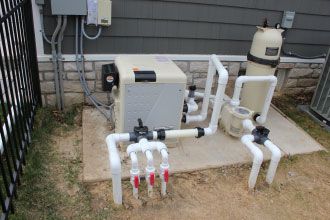 Pool Plumbing and Equipment