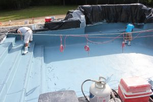 Shotcrete Pool Interior Finish