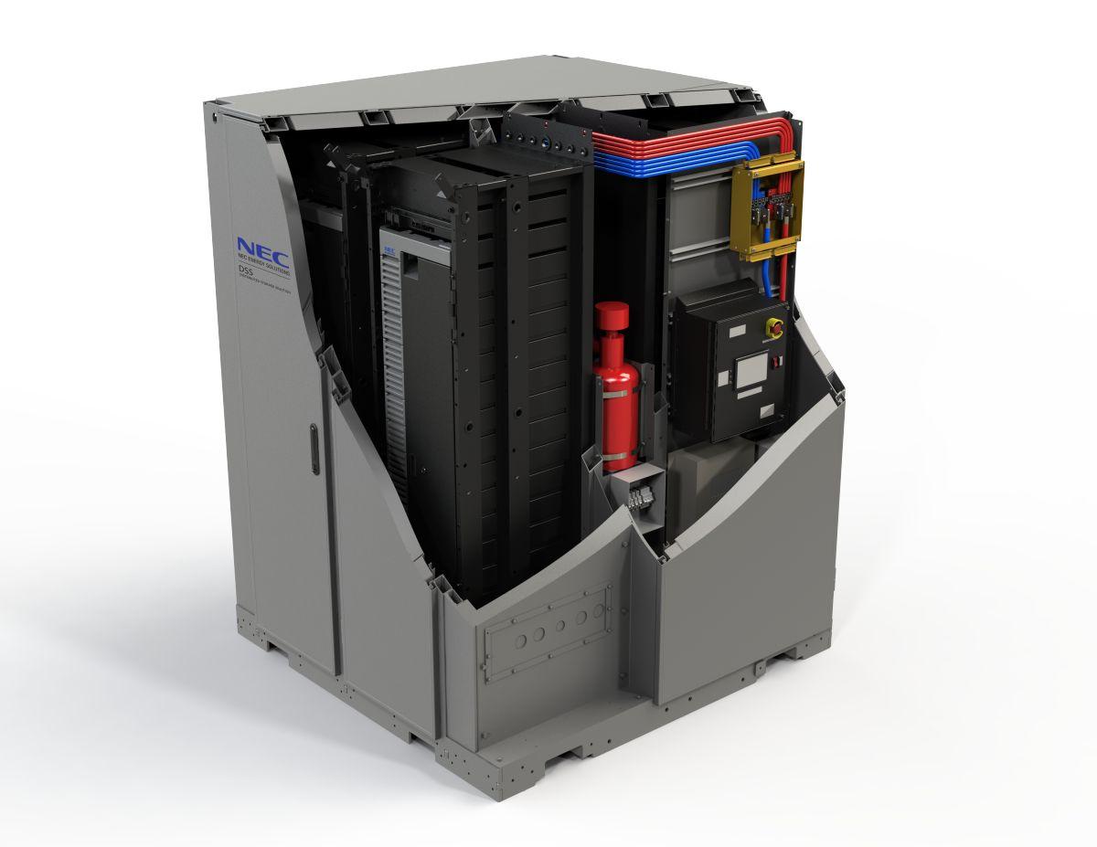 Energy Storage cutway NEC