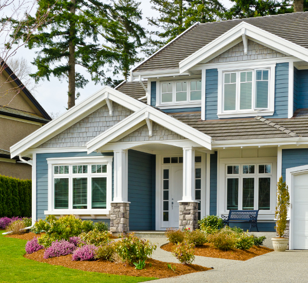 Nice Blue House