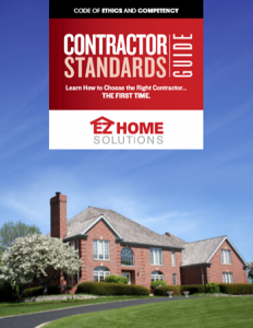 Contractor guide cover